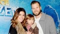 Jamie-Lynn Sigler and Cutter Dykstra with son Beau at 2015 Disney On Ice.