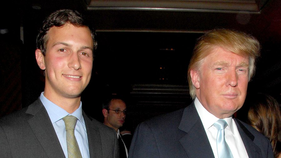 Jared Kushner and Donald Trump attend IVANKA TRUMP celebrates launch of IVANKA TRUMP FINE JEWELRY and opening of IVANKA TRUMP BOUTIQUE at Country at Carlton Hotel on September 20, 2007 in New York City.