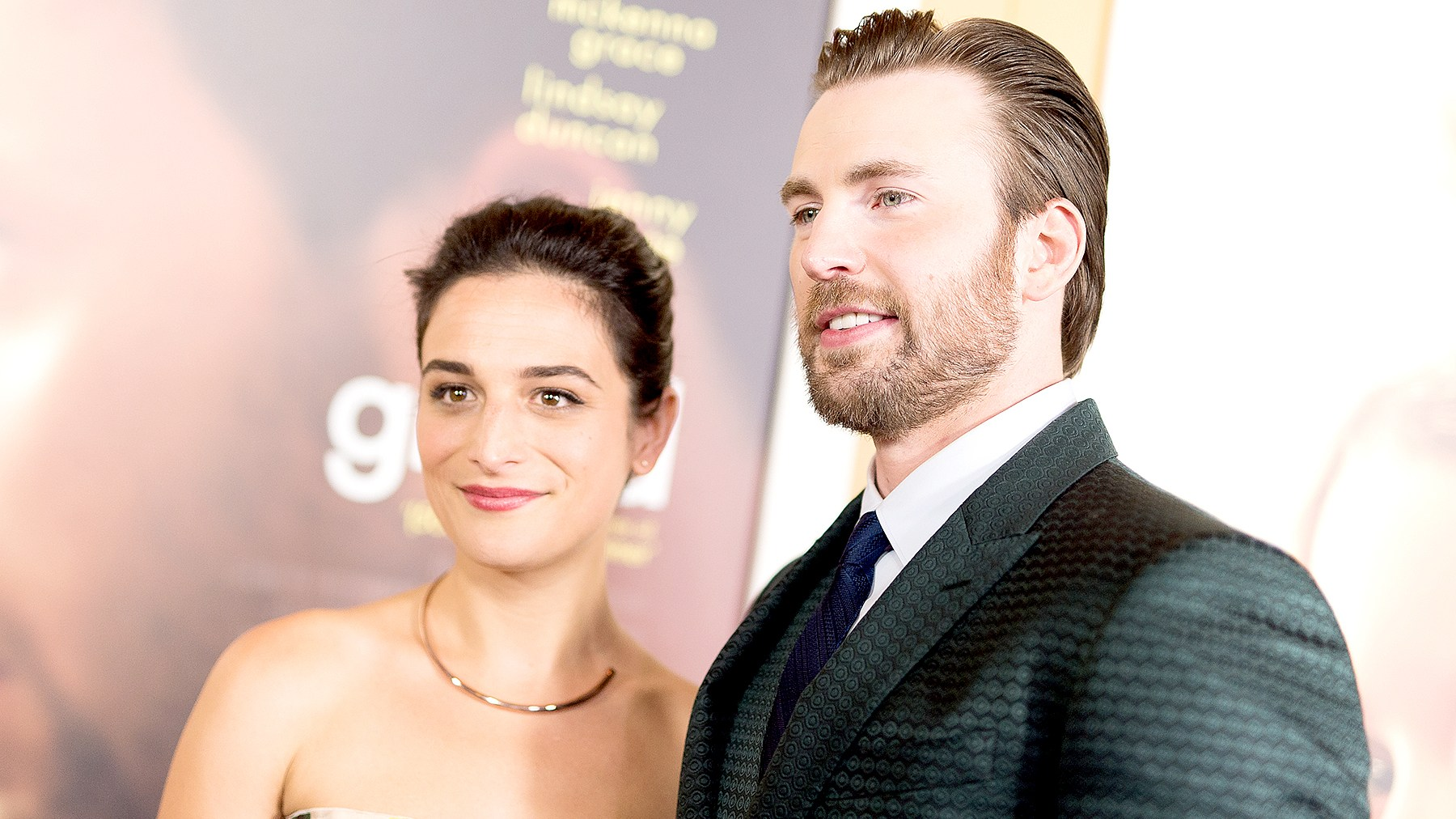Chris Evans, Jenny Slate, together, break up