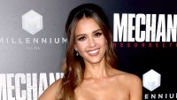 "Jessica Alba attends the premiere of Summit Entertainment's ""Mechanic: Resurrection"" at ArcLight Hollywood on August 22, 2016 in Hollywood, California."