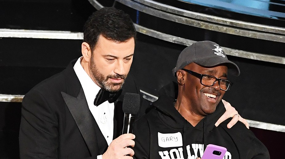 Jimmy Kimmel Gary from Chicago Oscars 2017