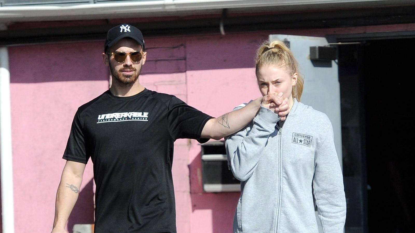 Joe Jonas and Sophia Turner