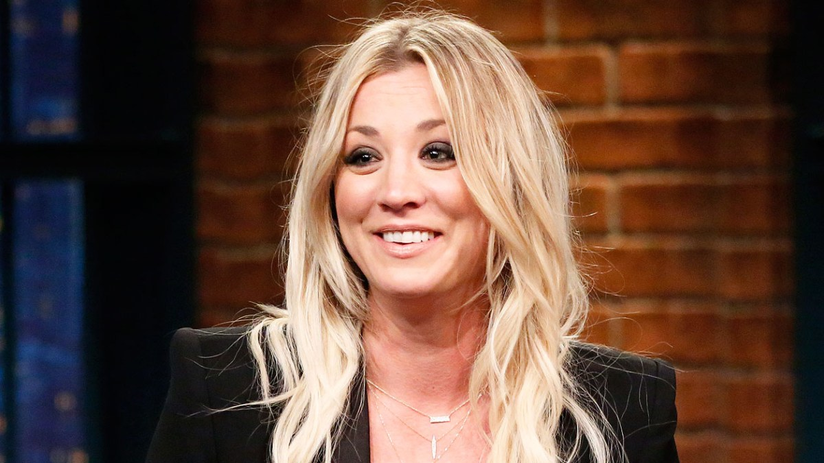Kaley Cuoco Goes Back To Penny Length Lob Hairstyle Before After