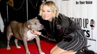Kaley Cuoco attends the Stand Up For Pits Comedy Benefit at The Improv on November 8, 2015.