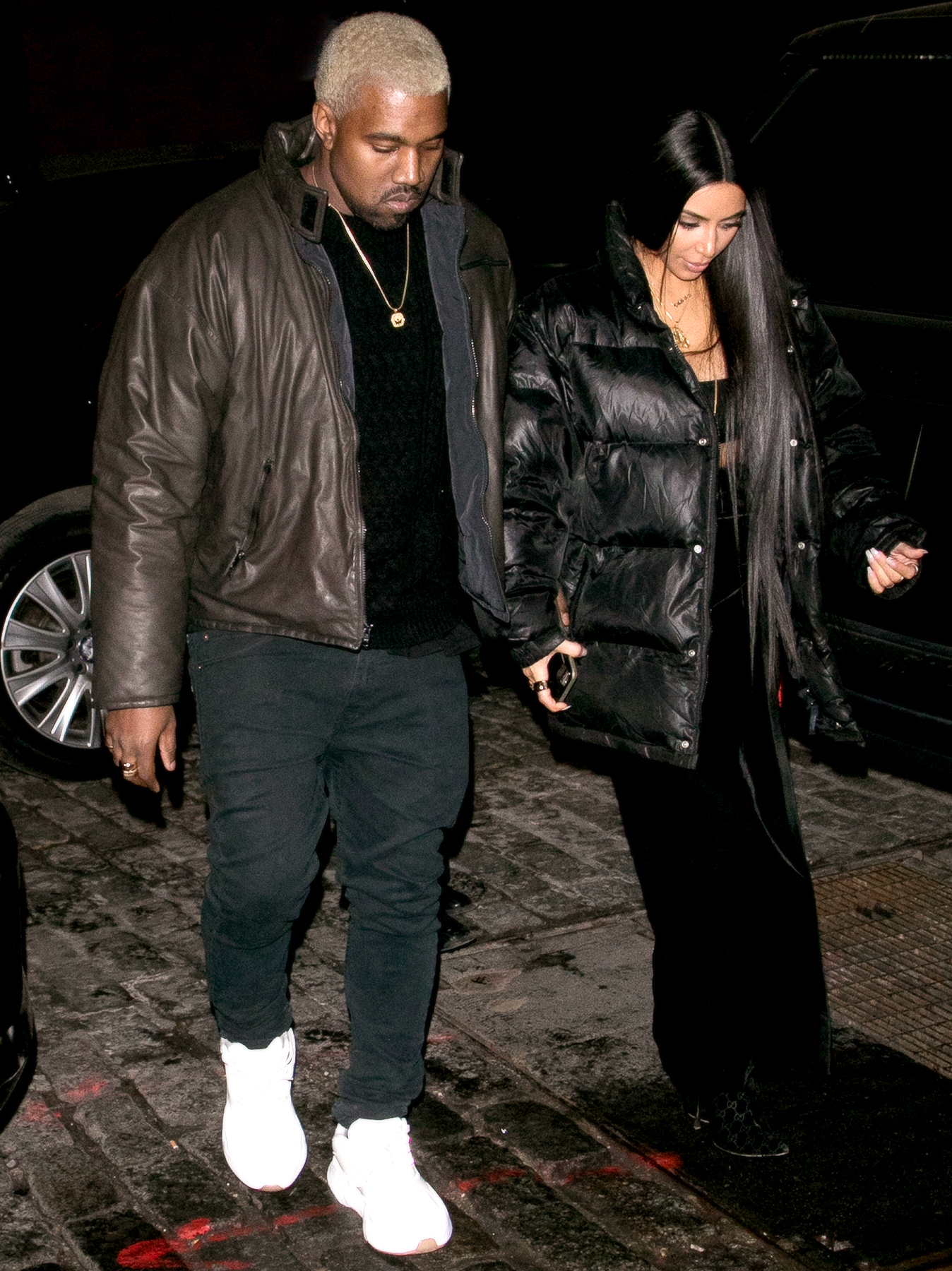 How Kim Kardashian Kanye West Celebrated Valentines Day