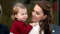 Catherine, Duchess of Cambridge and Princess Charlotte