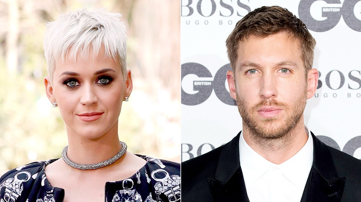 Katy Perry and Calvin Harris