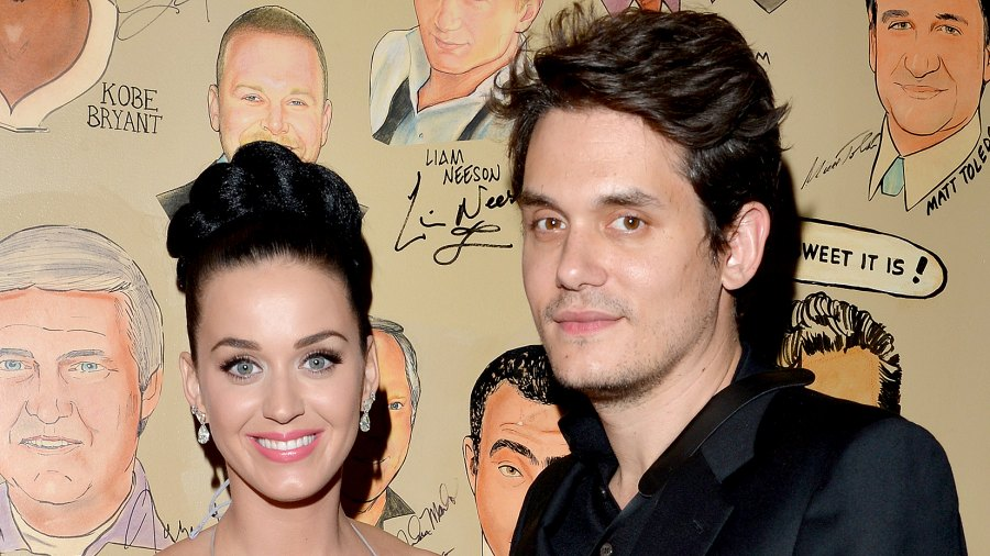 Katy Perry and John Mayer attend the Sony Music Entertainment Post-Grammy Reception at The Palm on January 26, 2014 in Los Angeles, California.