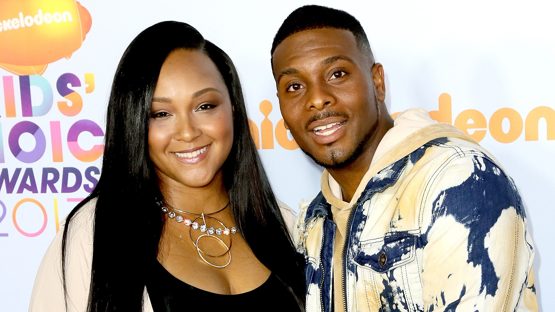 Asia Lee and Kel Mitchell attend Nickelodeon's 2017 Kids' Choice Awards at USC Galen Center on March 11, 2017 in Los Angeles, California.