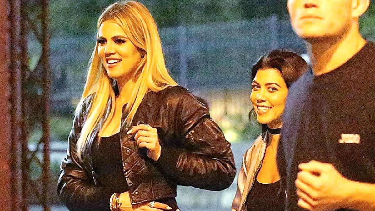 d8018d16003 Khloe Kardashian Wears Sheer Bodysuit and Reveals Basically Everything