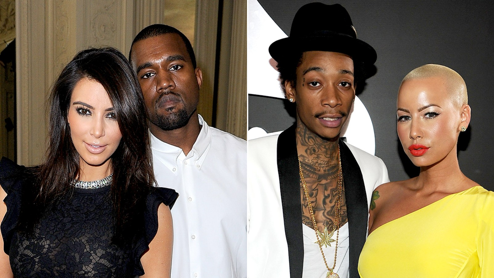 82a3c4159f6 A History of Kanye West s and the Kardashians  Feuds With Amber Rose