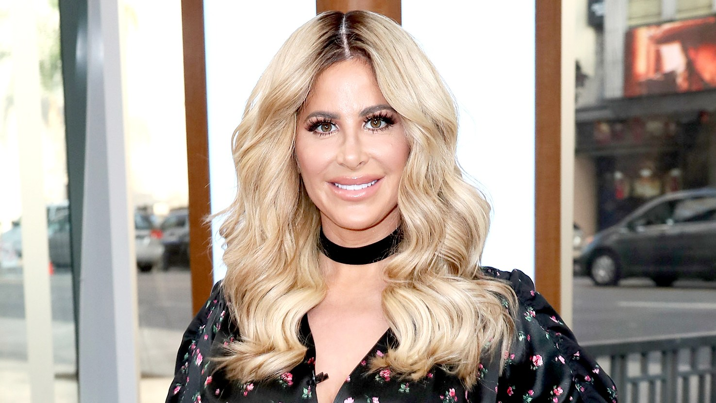 Kim Zolciak visits Hollywood Today Live at W Hollywood on October 13, 2016 in Hollywood, California.