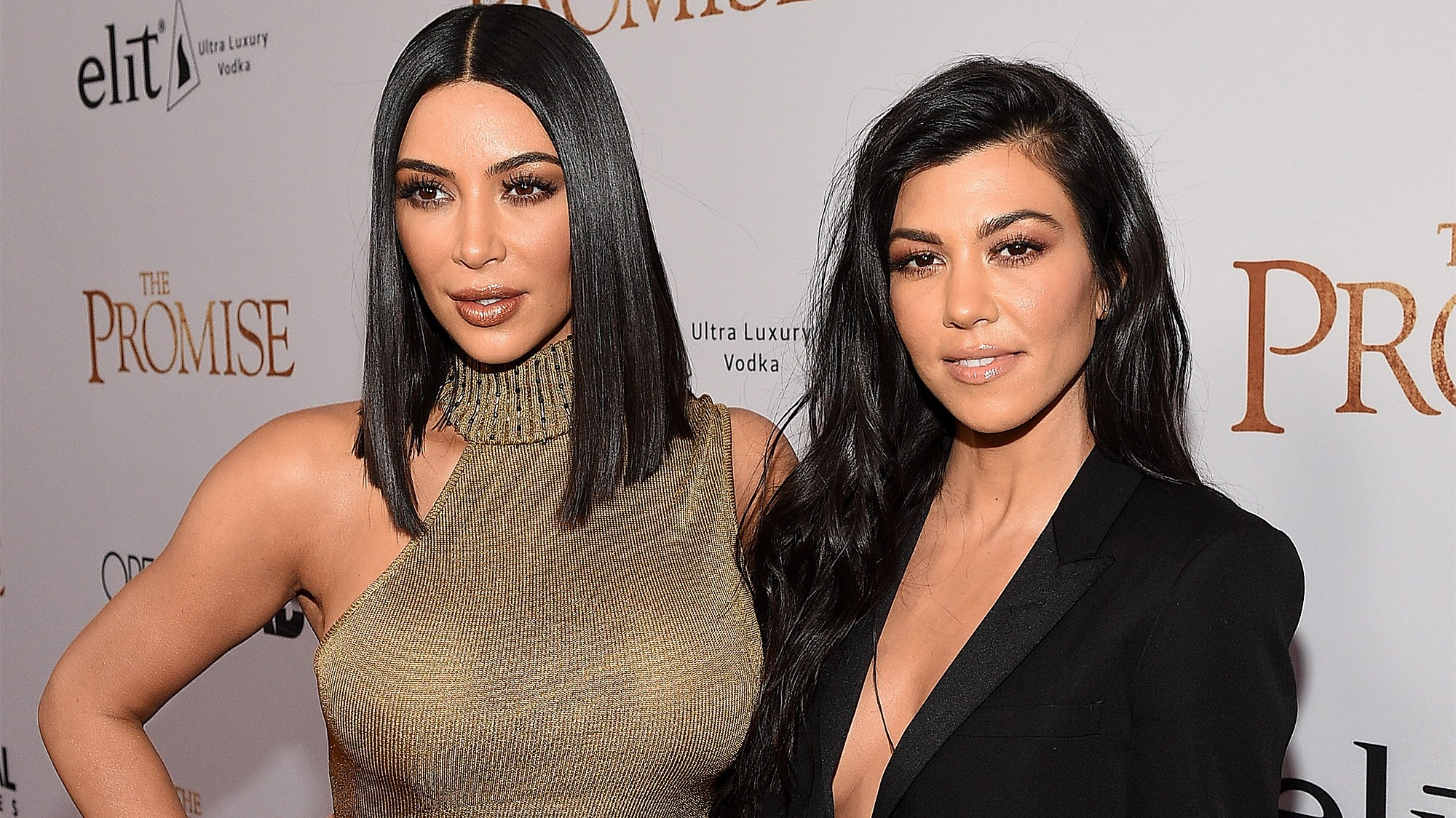 Image result for kim and kourtney