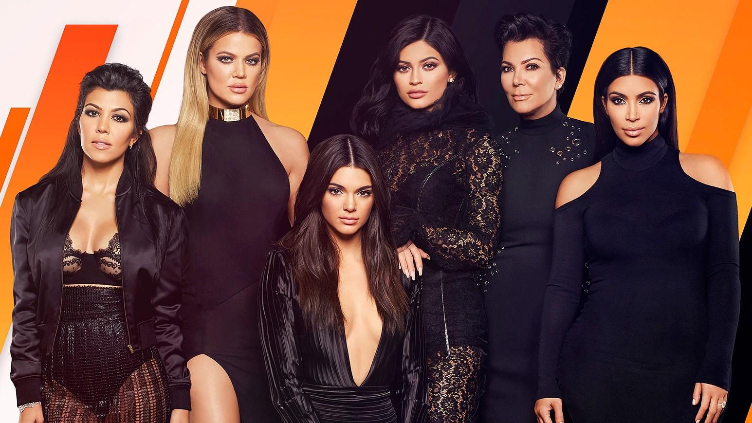 Kourtney Khloe Kendall Kylie Kris Kim Kardashian Jenner