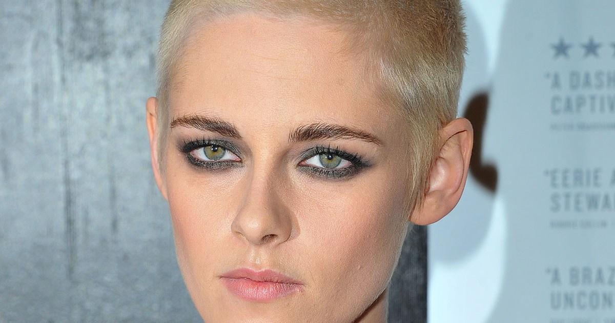 Kristen Stewart Debuts Shaved Head
