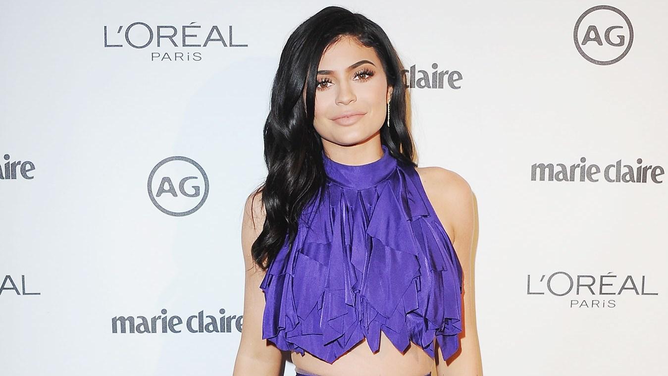 Kylie Jenner Balmain's Resort 2017