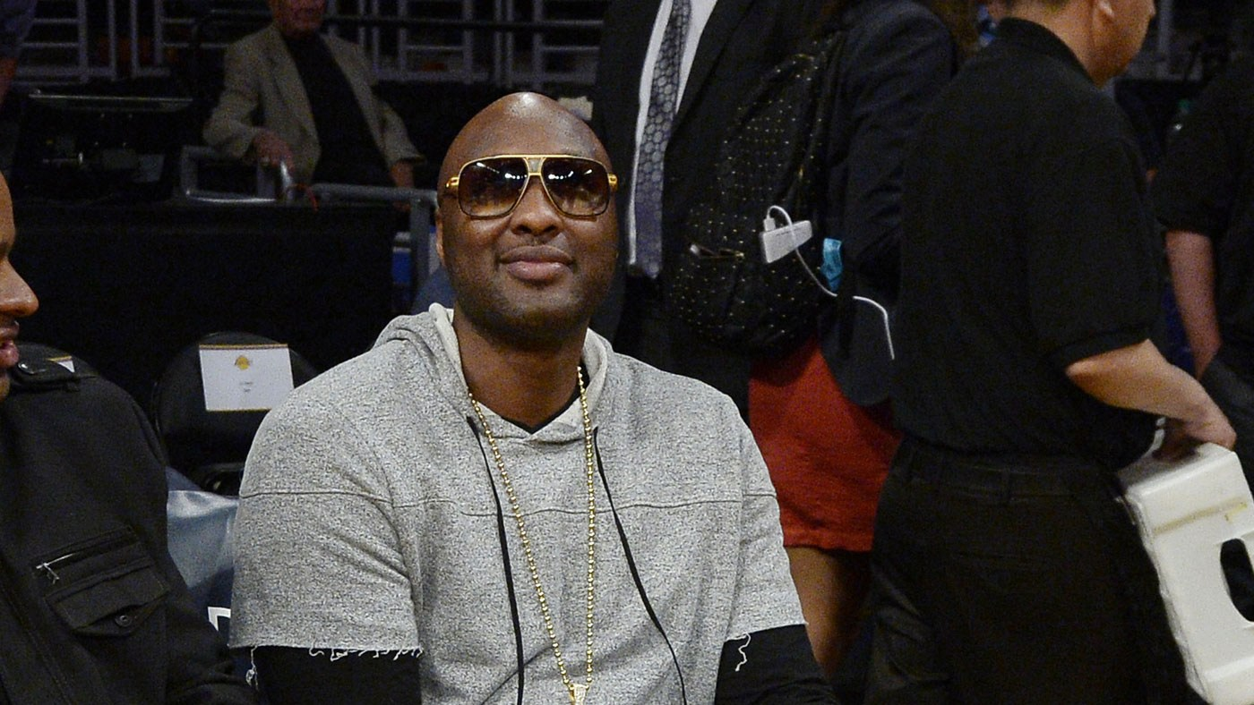 Lamar Odom returns to the Staples Center for an L.A. Lakers game
