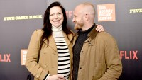 "Laura Prepon and Ben Foster attend the ""Five Came Back"" world premiere at Alice Tully Hall at Lincoln Center on March 27, 2017 in New York City."