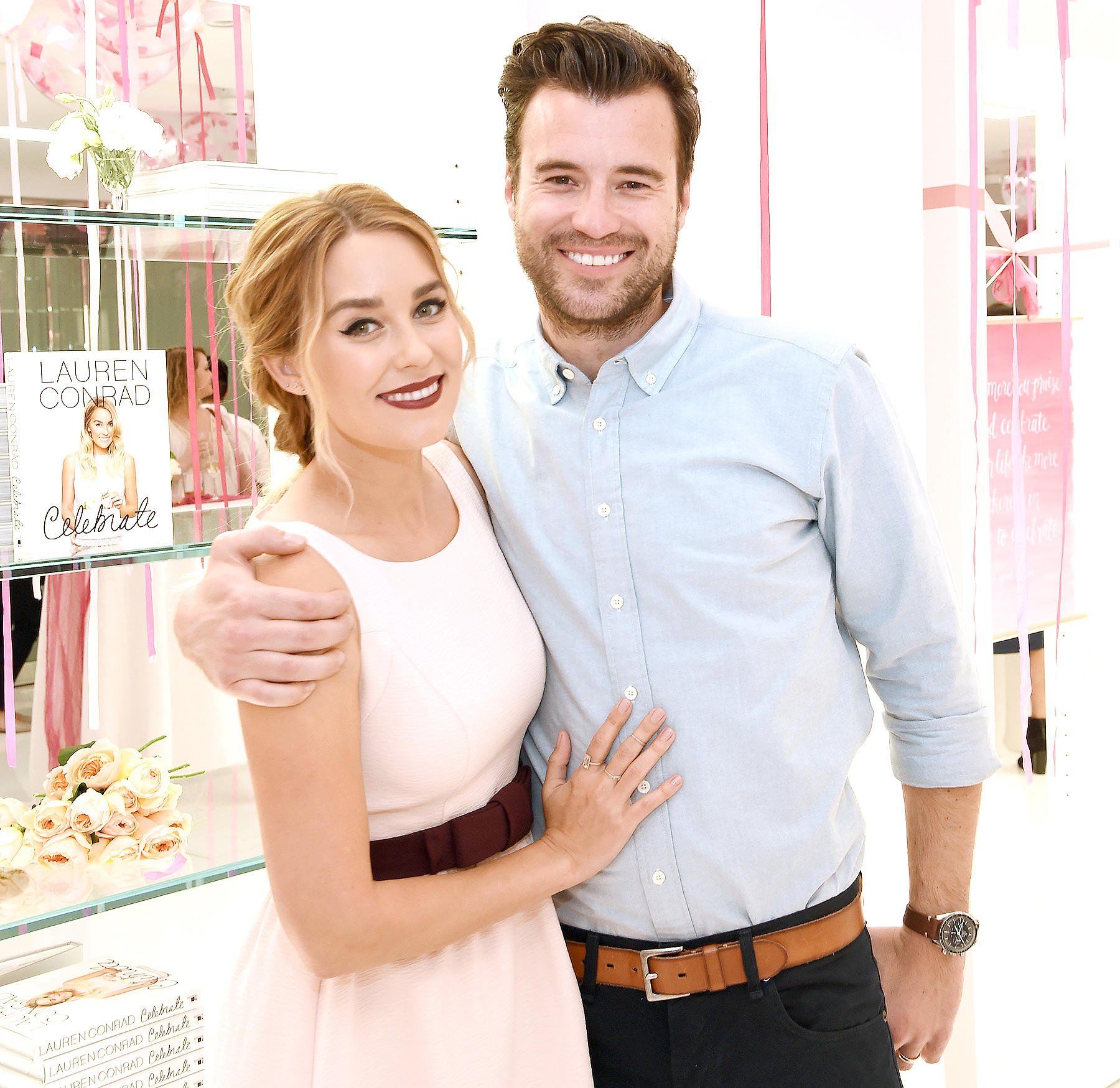How long has lauren conrad and william tell been dating