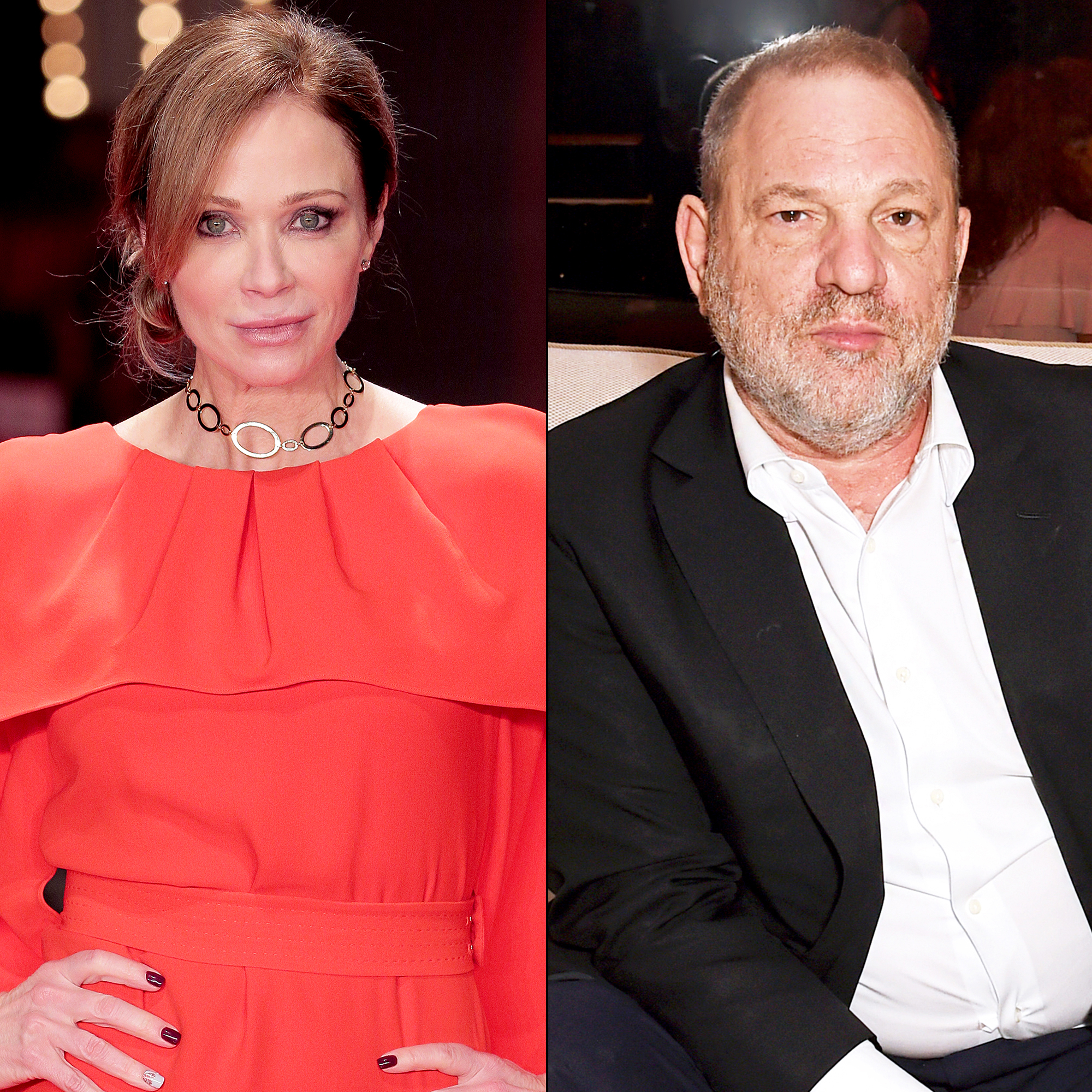 Lauren Holly and Harvey Weinstein
