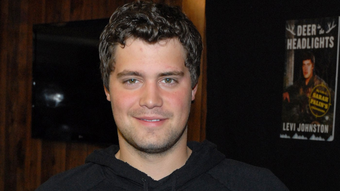 Levi Johnston at his book promotion event in 2011