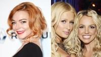Lindsay Lohan Paris Hilton Britney Spears