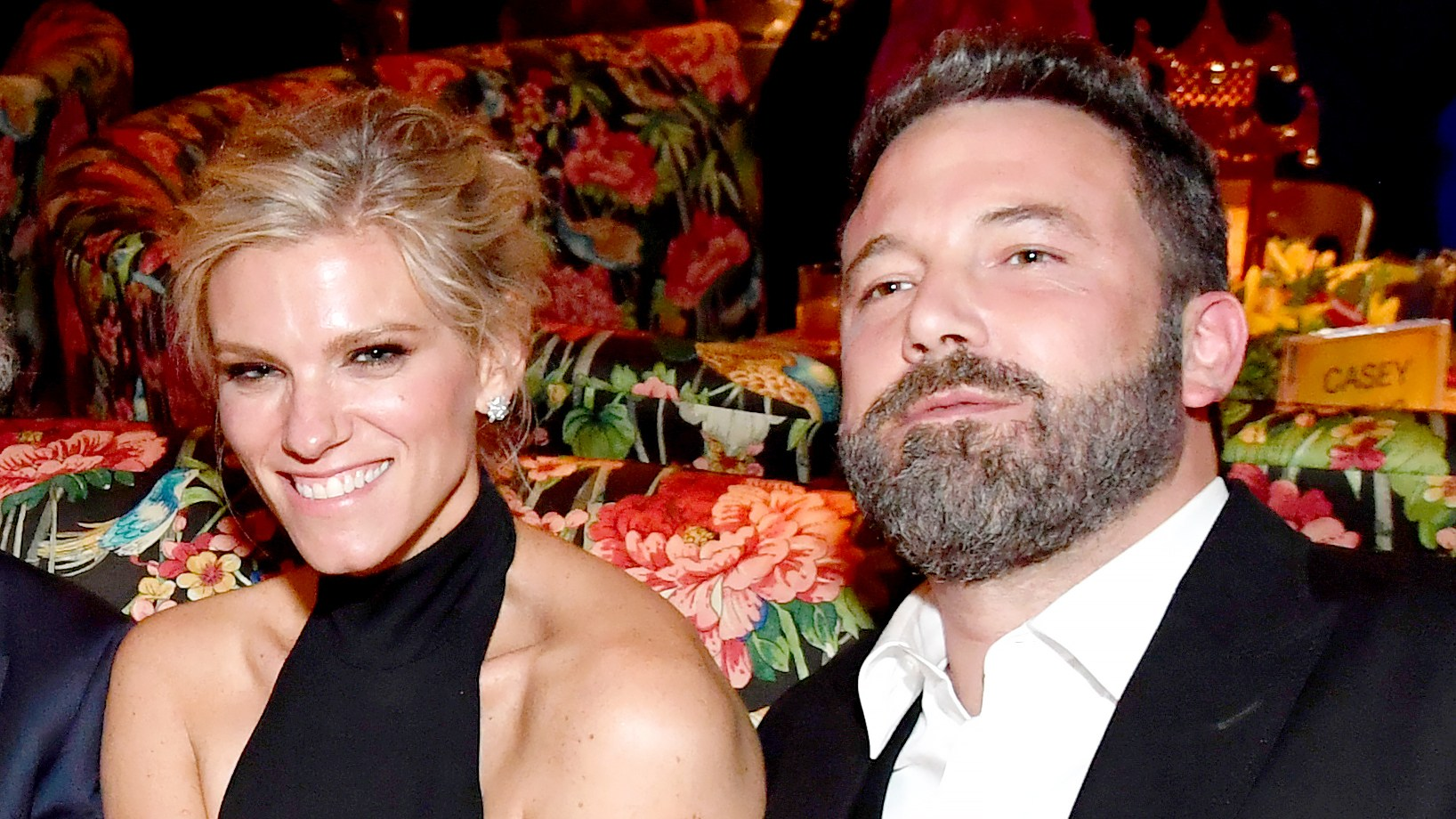 Lindsay Shookus and Ben Affleck attend the HBO's Official 2017 Emmy After Party at The Plaza at the Pacific Design Center on September 17, 2017 in Los Angeles, California.