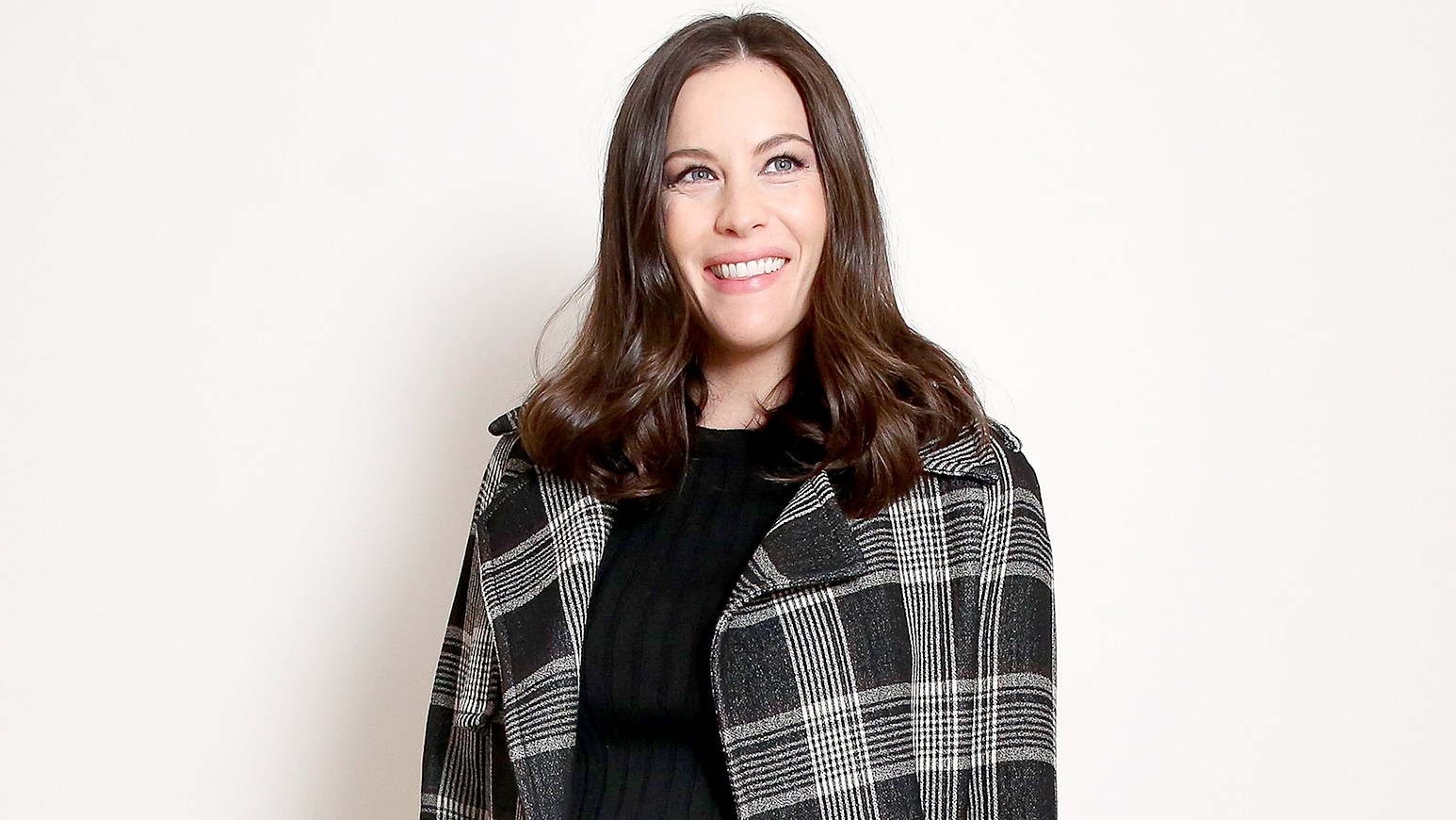 Liv Tyler attends the Proenza Schouler fashion show during Fall 2016 New York Fashion Week.