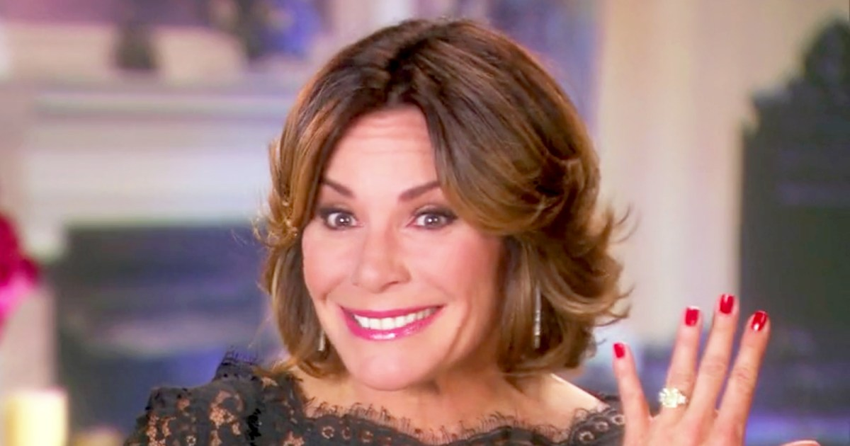 RHONY's Sonja Isn't Impressed With Luann's Engagement Ring