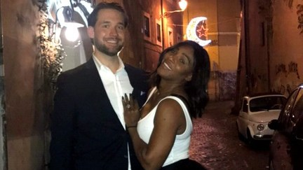 Serena Williams Shows Off Huge Engagement Ring in New Pic