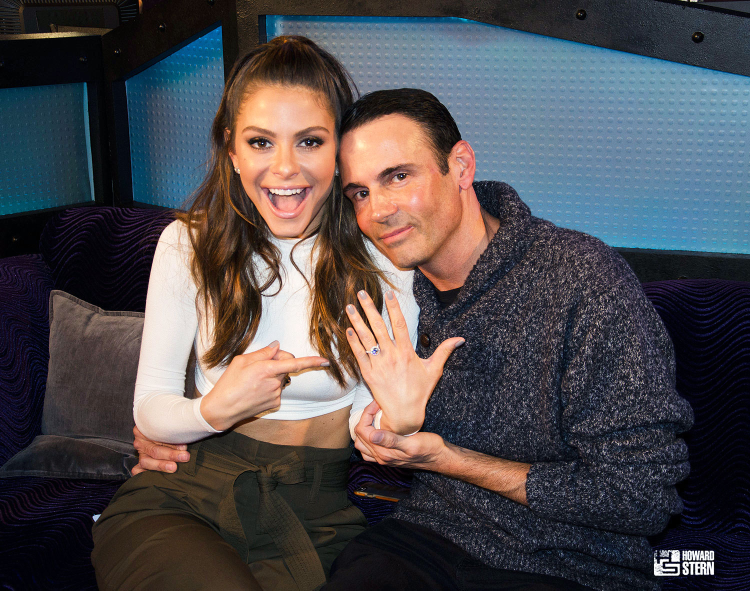 Maria Menounos Just Got Married on Live TV