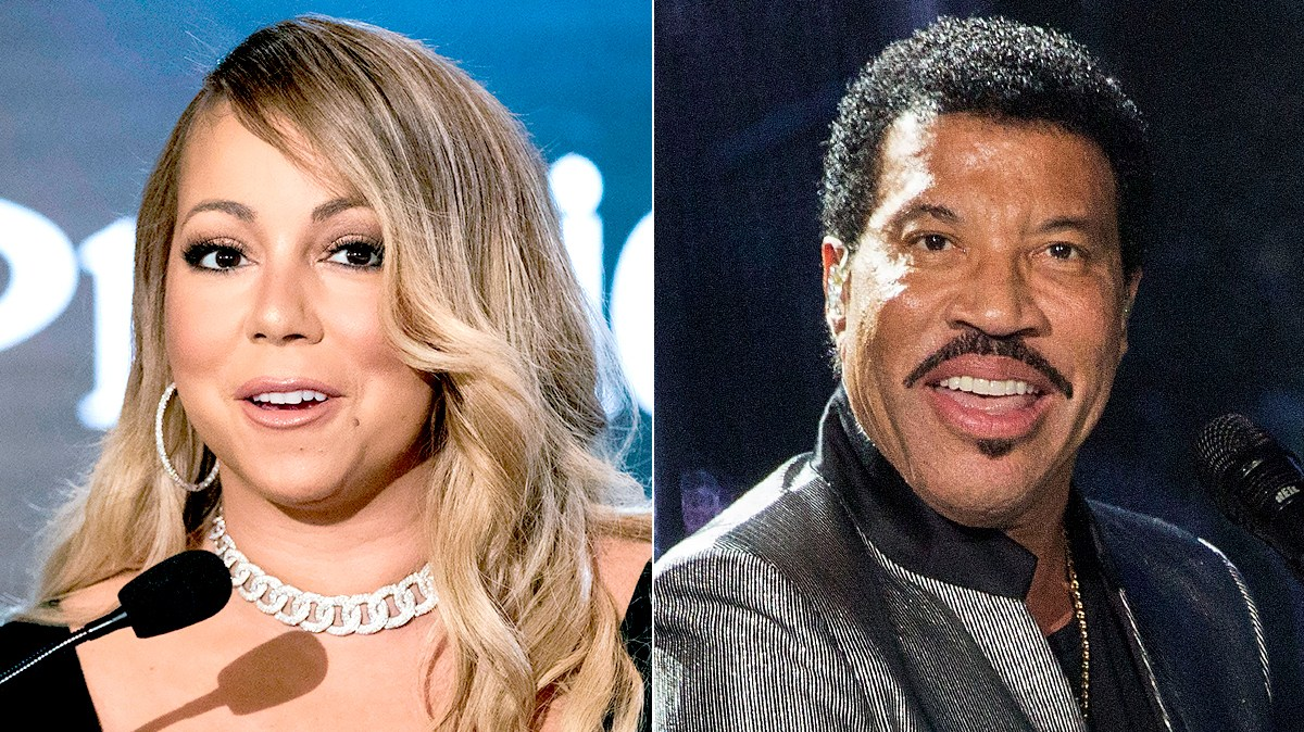 Mariah Carey and Lionel Richie