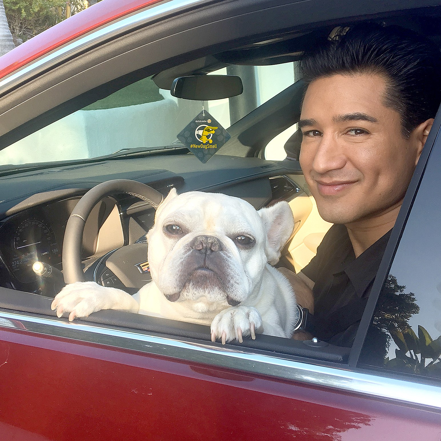 Mario and his dog Julio