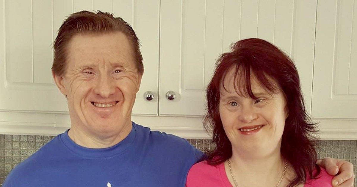 this couple with down syndrome have been married 22 years. Black Bedroom Furniture Sets. Home Design Ideas