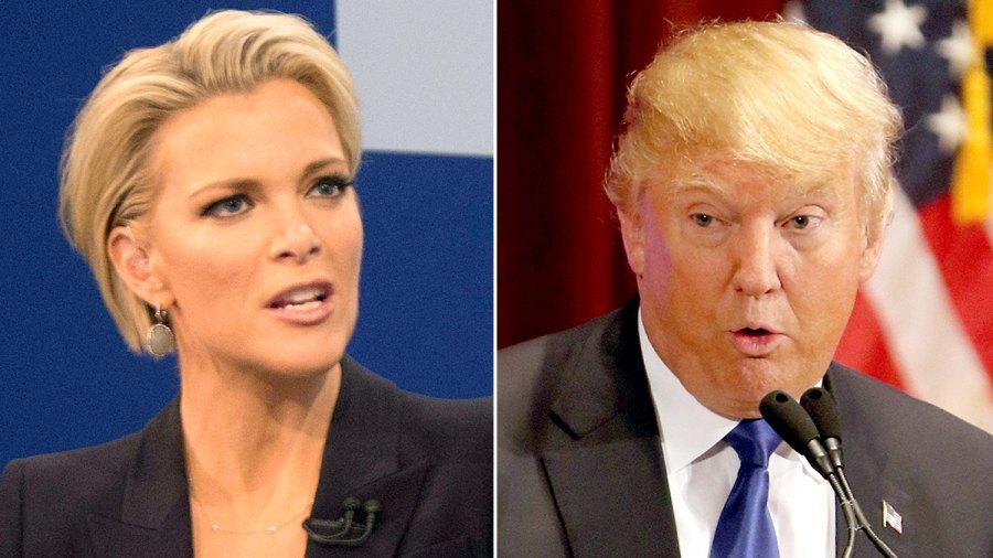 Megyn Kelly and Donald Trump