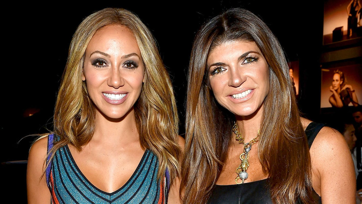 Melissa Gorga and Teresa Giudice