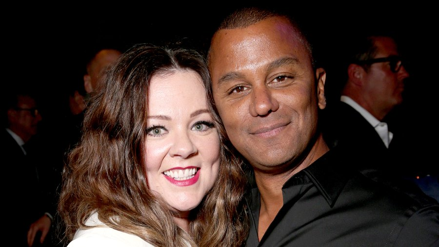 """Melissa McCarthy and Yanic Truesdale attend the premiere of USA Pictures' """"The Boss"""" after party at the Hammer Museum on March 28, 2016 in Westwood, California."""