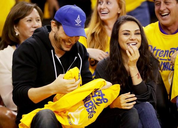 Mila Kunis Ashton Kutcher Bought Wedding Bands
