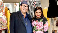 "Costume Designer Sal Perez (L) and Actress Mindy Kaling attend the ""The Mindy Project"": 6 Seasons Of Style at The Paley Center for Media on August 24, 2017 in Beverly Hills, California."