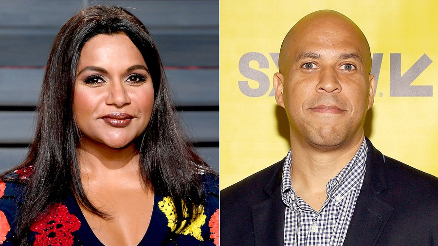 Mindy Kaling Gets Asked Out By Senator Cory Booker After