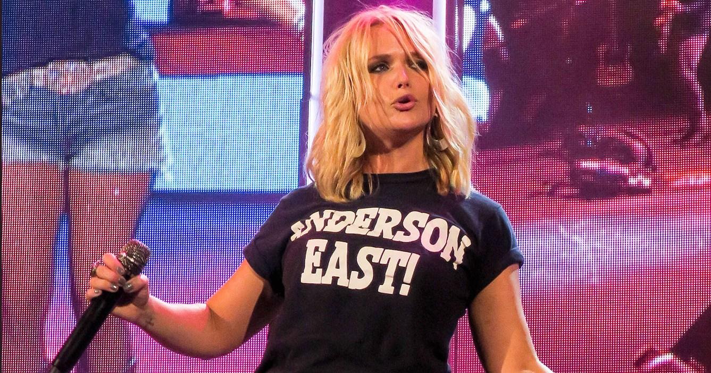 Miranda Lambert Wears T-Shirt With Boyfriend Anderson East ... Kim Cattrall Now