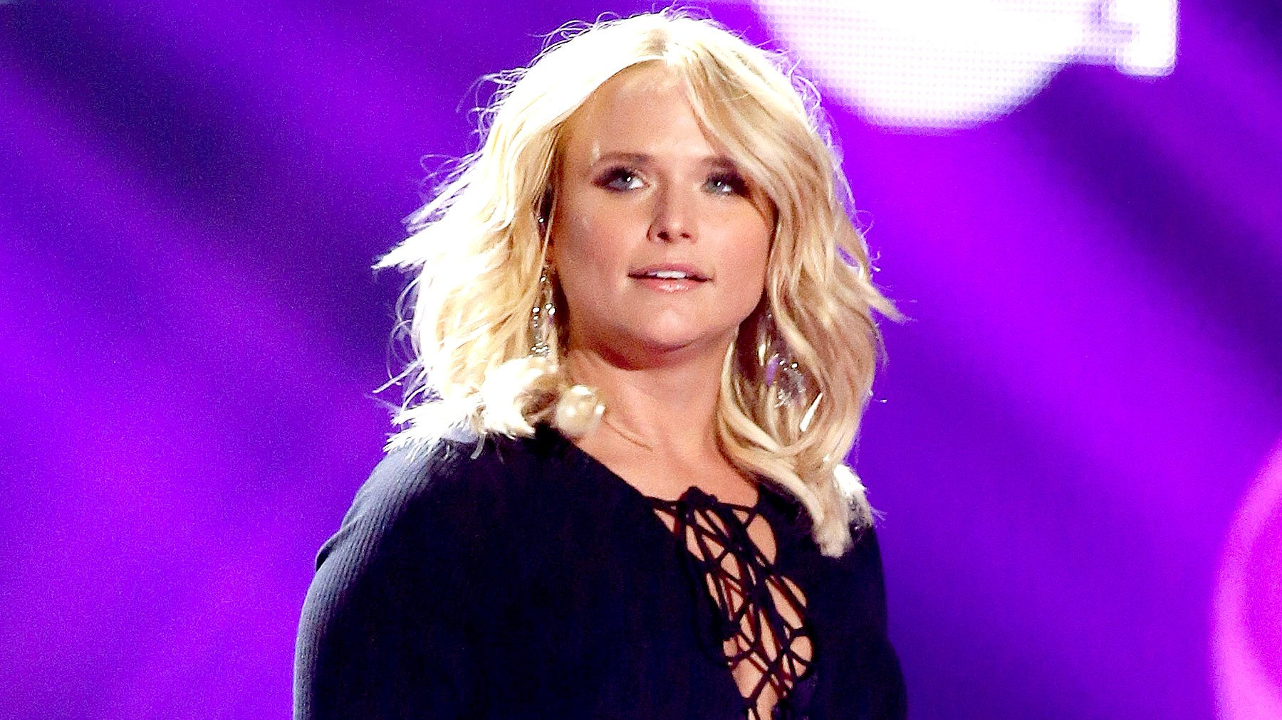 Miranda Lambert performs onstage during the 2016 iHeartCountry Festival.