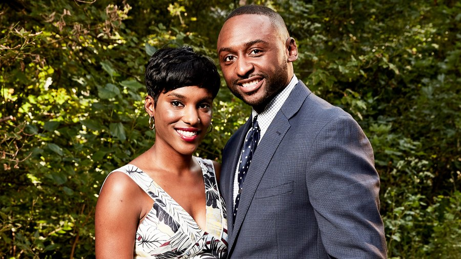 """Sheila and Nate from Lifetime's """"Married at First Sight"""""""