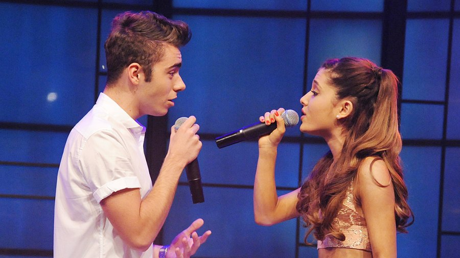 Nathan Sykes & Ariana Grande