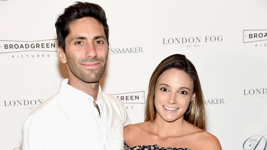 """Nev Schulman and Laura Perlongo attend """"The Dressmaker"""" New York Screening at Florence Gould Hall Theater on September 16, 2016 in New York City."""