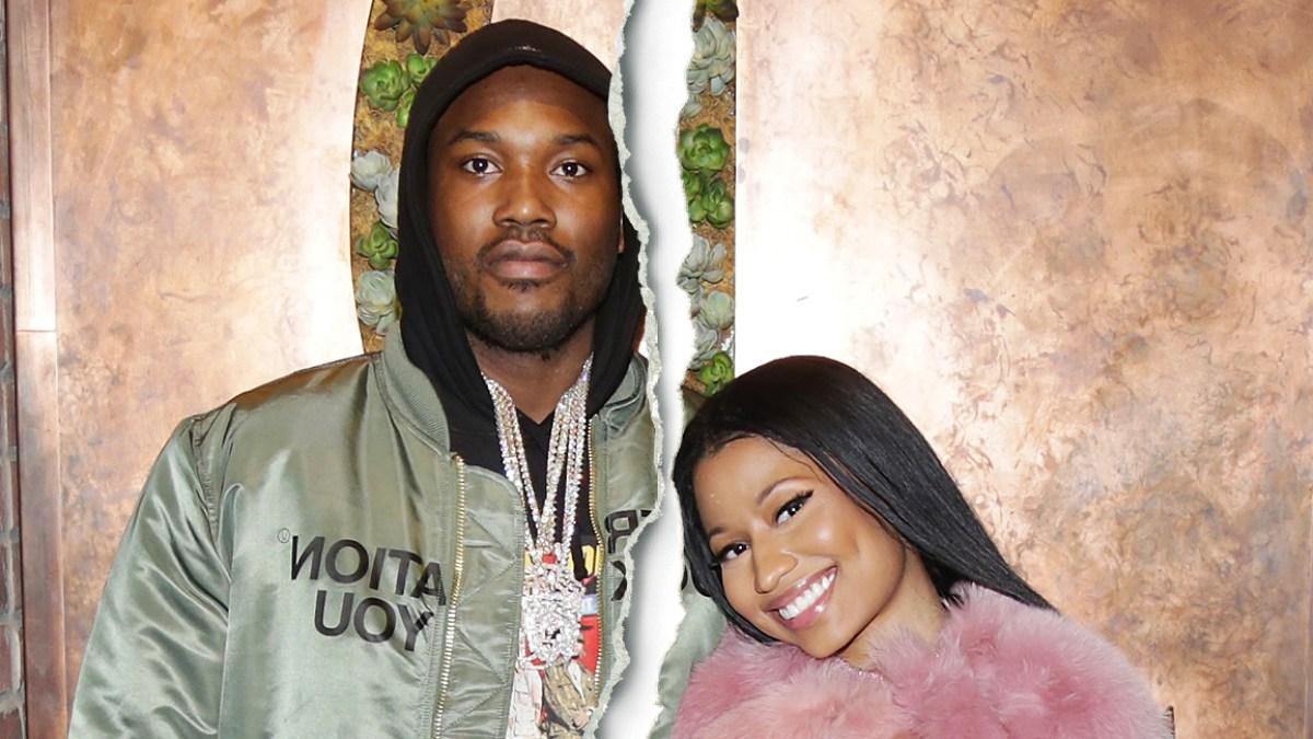 Nicki Minaj Confirms Meek Mill Split Im Single Austin Wedges Mackenzie Black