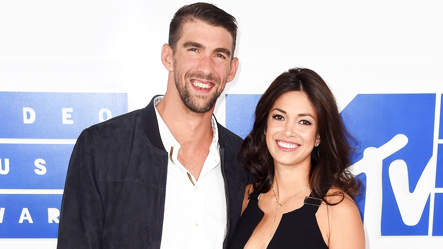 Michael Phelps and Nicole Johnson