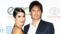 Nikki Reed and Ian Somerhalder attend the 26th annual EMA Awards at Warner Bros. Studios on October 22, 2016 in Burbank, California.
