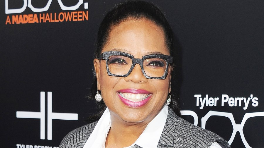 """Oprah Winfrey arrives at the Los Angeles Premiere """"Boo! A Madea Halloween"""" on October 17, 2016 in Hollywood, California."""