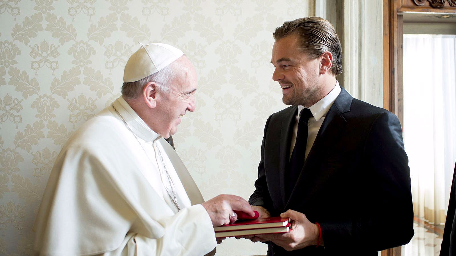 Leonardo Dicaprio Pope